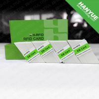 Blank plastic PVC cards for company employee management