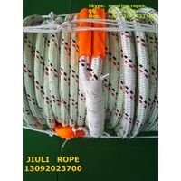 dyneema fiber rope with polyester sleeve