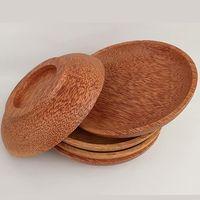 Coconut wooden plates thumbnail image