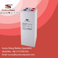 Deep Cycle Tubular Plate Gel Solar Power System Battery 2v 1000ah