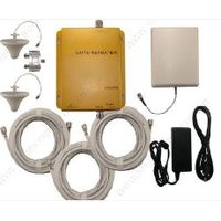UMTS980 2100mhz 3G mobile phones signal repeaters with out door antennas 3G UMTS 2100mhz cell phones