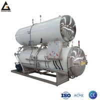 ASME Certificated Jars Food Sterilization Autoclave Retort