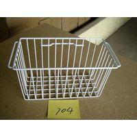 Plastic Coating Freezer Basket with Handle thumbnail image