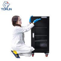 160L home use humidity control electronic dry cabinet for camera lens and chemicals storage