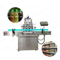 straight line automatic water glass water bottle liquid filling machine thumbnail image