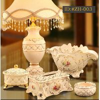 European style luxurious ceramic decoration set(Housewarming gift) ID:#ZH-003