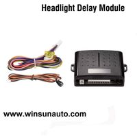 Headlight delay module