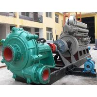 Diesel engine self priming trash pump with Trailer