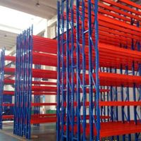 steel pallet rack for storage