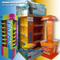 Cardboard Display Rack,Pallet Display For Goods Promotion