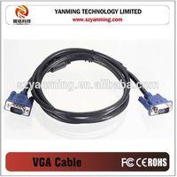 Coaxial 15pin vga to vga cable