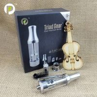USA Hotselling 3 in 1 tank ,best vaporizer for dry herb wax oil Triad Gear by Paipu