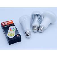 Manufactures directly sale hot products R62 E27/E26 9w rgbw gledopto led bulb /lamp Espitar
