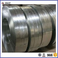 cold rolled steel strip annealed package in roll/Q195 galvanized steel strip