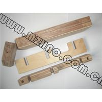 Electrical Laminated Pressboard Insulating Wood Sheets Birch Wood Laminated Tray For High Voltage Po