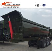 3 Axles Self-Dumping Tipper Trailer