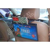 Taxi Headrest Advertising Rack