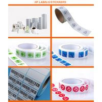 Full Color Printing HF/UHF Passive Paper Roll Smart NFC RFID Label/Sticker/Tag