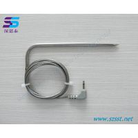 Digital thermometer probe stainless steel food-grade probe