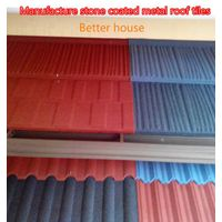 Zinc aluminum steel roof tiles