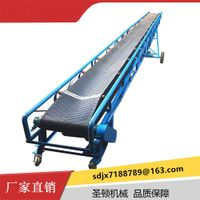 Stationary belt conveyor mine belt conveyors wood chip transport conveyor