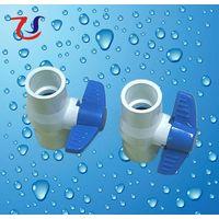 plastic threaded ball valve