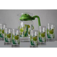 Jeisn Glass Cup set with pot thumbnail image