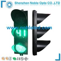 road safety traffic light with countdown timer
