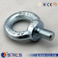 galvanized drop forged DIN580 eye bolt
