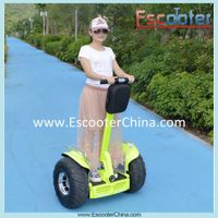 China electric chariot,off road 2 wheel self balancing electric scooter thumbnail image