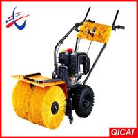 6.5hp gas snow sweeper,power broom sweeper thumbnail image