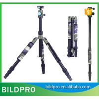 BILDPRO AW285 29mm Portable Light Tripod Flexible Camera Stand Best Quality Compact Aluminum Tripod
