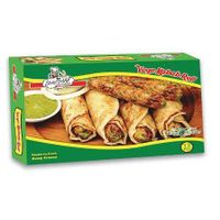 Frozen vegetable kabab roll