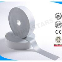 100% polyester 2 inches width grey high light reflective tape to sew thumbnail image