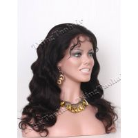 Body Wave Chinese Virgin Hair Glueless Full Lace Wig VGLW9936 thumbnail image