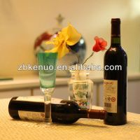 750ml bordeaux wine glass bottle made in china zibo