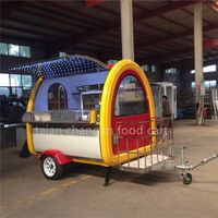 Hot Sale Hamburger Customized Mobile Food Cart