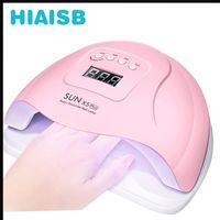 Nail Dryer Led Uv Light For Gel Nails Sum X5 Plus Machine Sun X5 Uv Led Lamp Pink Professional Set D