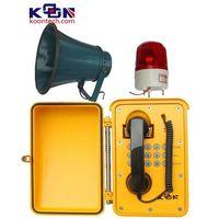 waterproof telephone Loud speaking weatherproof phone KNSP-08LB thumbnail image