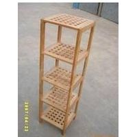 wooden sundries rack
