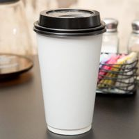 12oz Double Wall Paper Cup with Lid