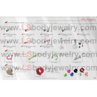 Body Jewelry, Body Piercing Jewelry, N042, Bio PTFE, Internal Labret, Nose Stud, Silicone Tunnel, Pl
