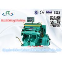 Platen Carton Box DIE Cutting Machine (Creasing)