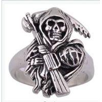 biker rings pendants