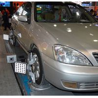 Auto 5D wheel alignment