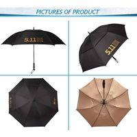 High Quality Double canopy and Fiberglass Frame Promotional Golf Umbrella