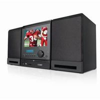 """COBY 7""""DVD/MP3/TV/Radio Player with Two Speaker USB SD"""