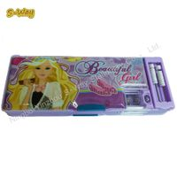 School characters design pencil box/pencil case for kids