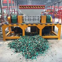 China Metal Shredder Machine Manufacturer Double Shaft Waste Metal Shredding Machine Metal Scrap Oil