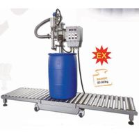 semi automatic oil liquid filling machine